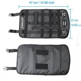 NEWBOLER Tas Sepeda Front Saddle Bag 10L - BAG005 - Black - 4