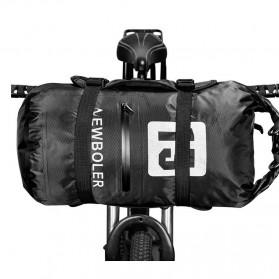 NEWBOLER Tas Sepeda Stang Depan Duffle Waterproof Bike Bag 15L - NWB031 - Black