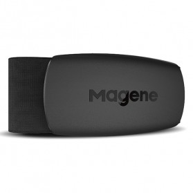 Gadget Media Player, Tablet , Smartphone, Power Bank, Laser Presenter - MAGENE Heart Rate Sensor Belt Dual Mode ANT+ & Bluetooth - H64 - Black