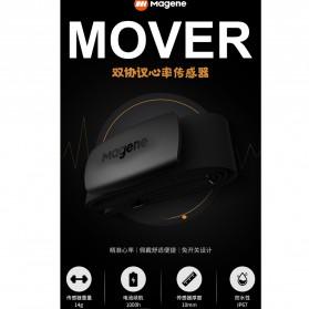 MAGENE Heart Rate Sensor Belt Dual Mode ANT+ & Bluetooth - MHR10 - Black - 10