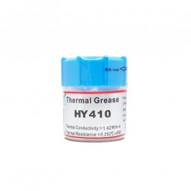 Thermal Paste CPU Heatsink Silicone Compound Conductive Grease 25g with Scraper - HY410 - Gray - 3