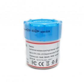 Thermal Paste CPU Heatsink Silicone Compound Conductive Grease 25g with Scraper - HY410 - Gray - 4