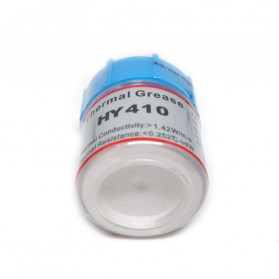 Thermal Paste CPU Heatsink Silicone Compound Conductive Grease 25g with Scraper - HY410 - Gray - 5