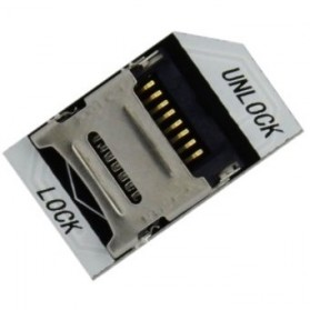 Raspberry Pi TF to MicroSD Card Adapter - Black