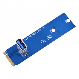 NGFF M.2 Slot to USB 3.0 Card Riser Adapter for Bit Coin Miner - Blue - 3