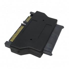 Sata 22pin to Micro Sata 16pin Adapter for 1.8 inch SSD - SA-014 - Black