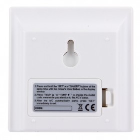 CHUNGHOP LCD Universal AC Remote Controller - K-650E - White - 4