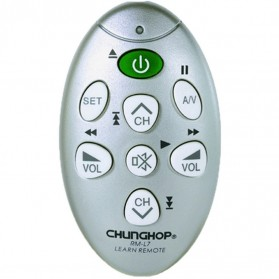 CHUNGHOP Universal Learning IR Remote - RM-L7 - Silver