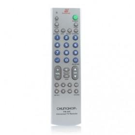 CHUNGHOP Universal TV Remote Control - RM-68E - Silver - 1