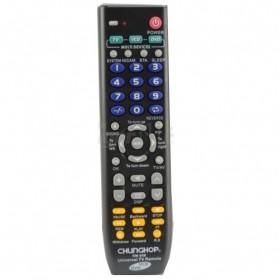 Remote AC / TV Universal - CHUNGHOP Remot Kontrol Universal 3 in 1 - RM-88E - Black
