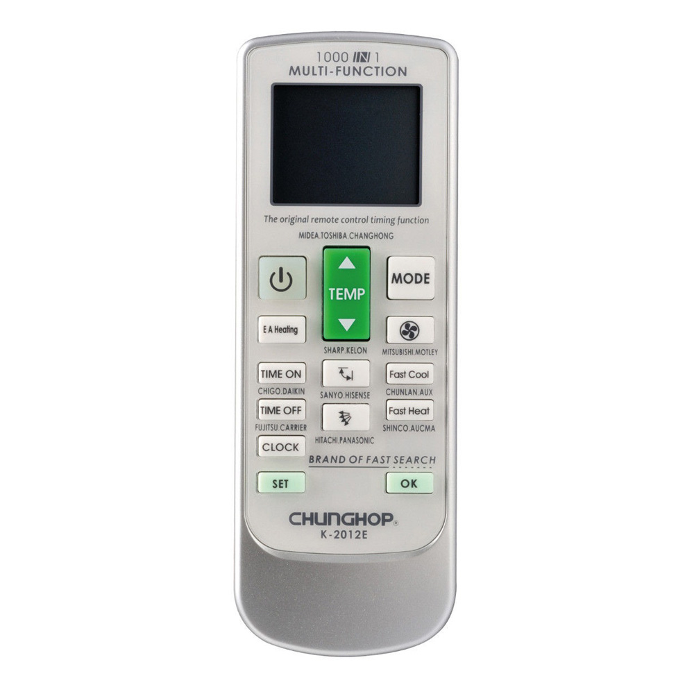 CHUNGHOP Universal AC Remote Controller - K-2012E - White