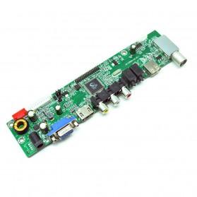 Universal LCD Controller Board TV Motherboard VGA / HDMI / AV / TV / USB - Black - 3