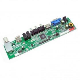 Universal LCD Controller Board TV Motherboard VGA / HDMI / AV / TV / USB - Black - 4