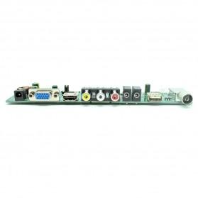 Universal LCD Controller Board TV Motherboard VGA / HDMI / AV / TV / USB - Black - 5