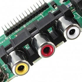 Universal LCD Controller Board TV Motherboard VGA / HDMI / AV / TV / USB - Black - 8