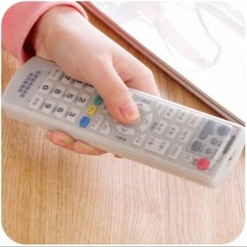 Sarung Silikon Remot Kontrol TV AC 16 x 5.5 Cm - KFR-22 - Transparent - 8