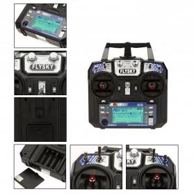 FlySky Remot Kontrol Drone RC Transmitter 2.4Ghz - Fs-i6 - Black - 7