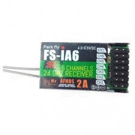 FlySky Remot Kontrol Drone RC Transmitter 2.4Ghz - Fs-i6 - Black - 10