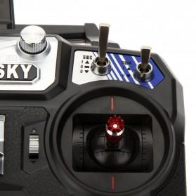 FlySky Remot Kontrol Drone RC Transmitter 2.4Ghz - Fs-i6 - Black - 12