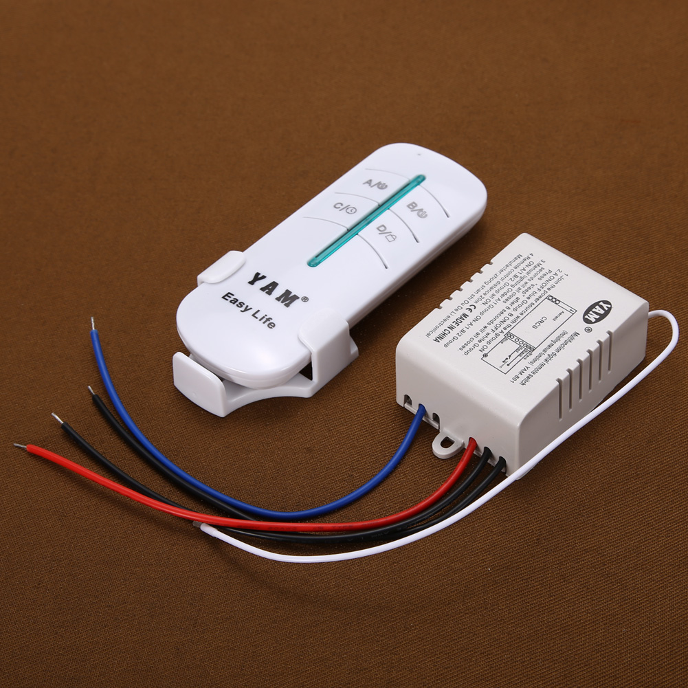 YAM Wireless Remote Control Lampu Rumah 1 Way