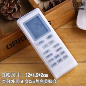 Sarung Silikon Remot Kontrol TV AC 12 x 4.5 cm - Transparent