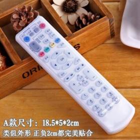 Sarung Silikon Remot Kontrol TV AC 18.5 x 5 cm - Transparent