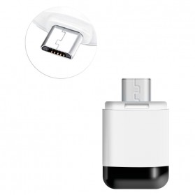 Infrared Adapter Remote Control Smartphone - Micro USB - White/Black