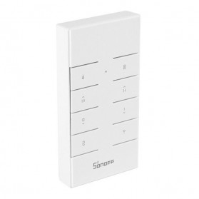 Sonoff Duplikator Cloning Custom Remote Control 8 Keys 433MHZ - RM433 - White