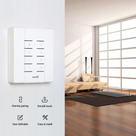 Sonoff Duplikator Cloning Custom Remote Control 8 Keys 433MHZ - RM433 - White - 3