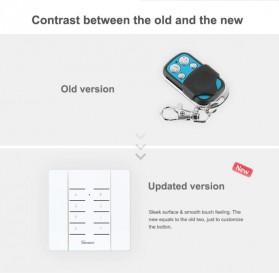 Sonoff Duplikator Cloning Custom Remote Control 8 Keys 433MHZ - RM433 - White - 5