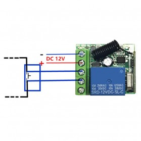 Qiachip Module Universal Wireless Remote Control 433MHz - C09 - Black - 5