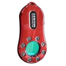 Alarm, Sensor & Bel Rumah - BACO Detektor Penyadap & Kamera Spy Hidden Bug Detector - SQ101 - Red