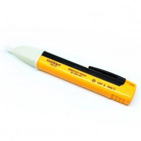 VoltAlert Tester Voltase Listrik Non Kontak dengan LED - 1AC-D - Black/Yellow