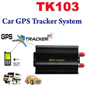 GPS Tracker Mobil Motor dengan Remote Control - TK103b - Black