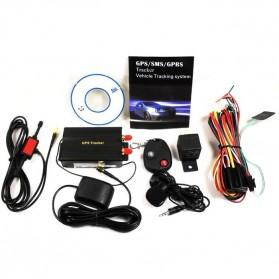 GPS Tracker Mobil Motor dengan Remote Control - TK103b - Black - 11