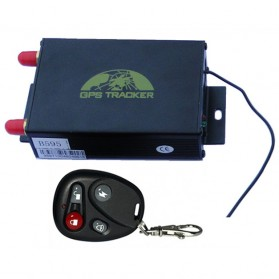 GPS Tracker Mobil Motor dengan Remote Control & CCTV - TK106s - Black