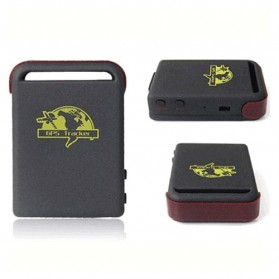 Global Smallest GPS Tracking Device GSM/GPRS/GPS Tracker - TK102-2 - Black