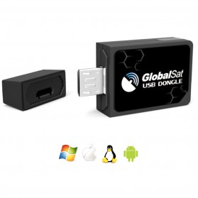 GPS Tracker - GPS Micro USB Interface ND105C Receiver - Black