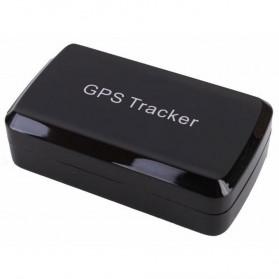 GPS Tracker Locator Mini Strong Magnetic untuk Mobil Motor - LM002 - Black