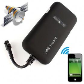 GPS Tracker Quad Band GSM untuk Mobil Motor - GT02A - Black