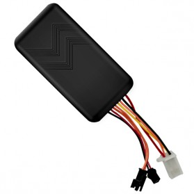 GPS Tracker Quad Band GSM untuk Mobil Motor - GT06 - Black