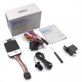 GPS Tracker Oil Power Cut System untuk Mobil Motor - TK303F - Black