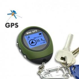 Mini GPS Pathfinder Portable Keychain - ST-901 - Green - 5