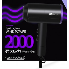 Shunrui Quick Dry+ Hair Dryer - XL-6666 - Black