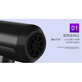 Shunrui Quick Dry+ Hair Dryer - XL-6666 - Black - 6