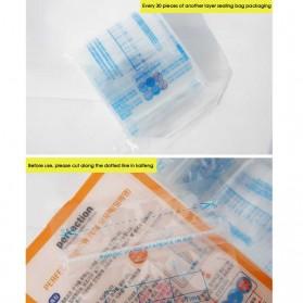 Kantong Susu ASI Ibu Milk Freezer Storage Bags 250ml 30 PCS - LDPE - White - 5