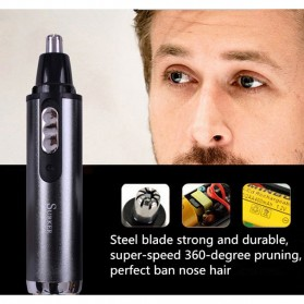 Xucco Nose Trimmer Cukur Bulu Hidung Elektrik Chargerable - SK-211 - Multi-Color