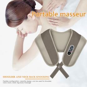 Alat Simulasi Pijat Elektrik Cervical Massage Shawl -  A194 - 4