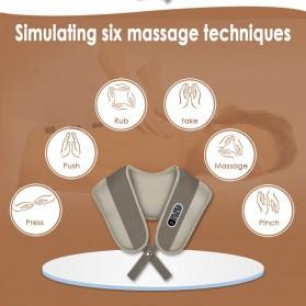 Alat Simulasi Pijat Elektrik Cervical Massage Shawl -  A194 - 6