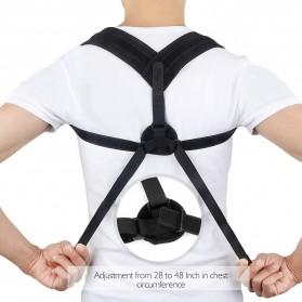 Tali Korektor Postur Punggung Body Harness Support Belt 90-110cm - 10223 - Black - 2